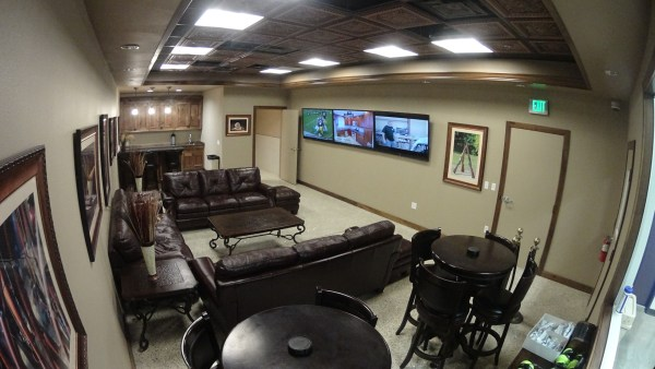 The Range 702 VIP room