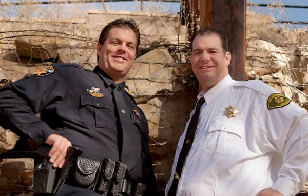 Deputy Dan and Mike Coyle have 25 years of law enforcement experience between them.