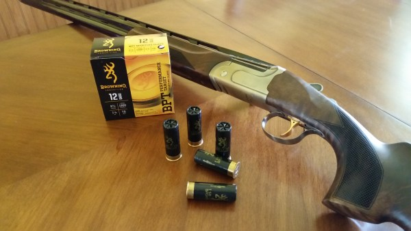 Browning BPT Shotgun ammo with a CZ-USA All American Trap Combo Shotgun.
