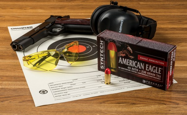 As part of his role as a product development engineer for Federal Premium, Reed helped develop and test American Eagle Syntech ammunition.