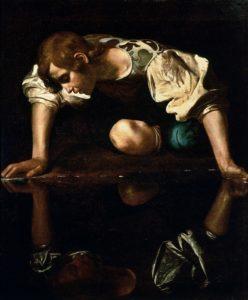 """Caravaggio's """"Narcissus"""""""