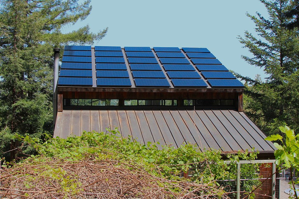 Design Build Cabin Solar Front 2