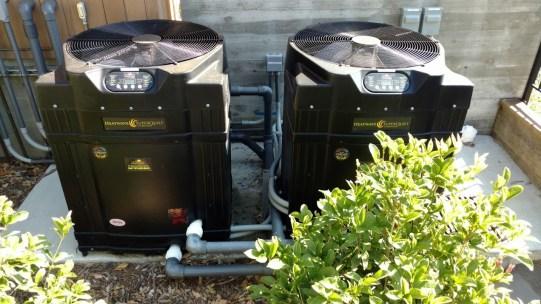 Two Heat Pumps