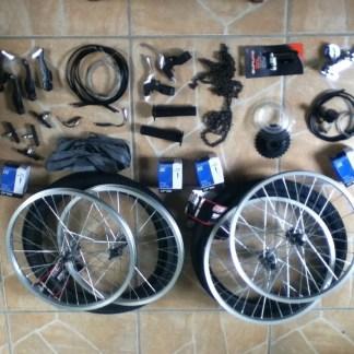 Side Kick Bicycle Parts Kit American Speedster