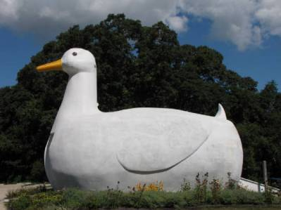 Big Duck. Flanders, NY. Photo by Suffolk County Parks Department.