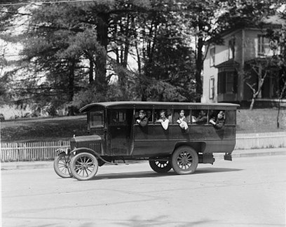 Ford Motor Co. (Rockville School Bus) 1925. Photographer Unknown.