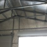 Second Inside View of Insulated Metal Garage Carport