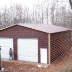 metal barns and garages