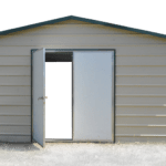 walk-in-doors for garage sheds