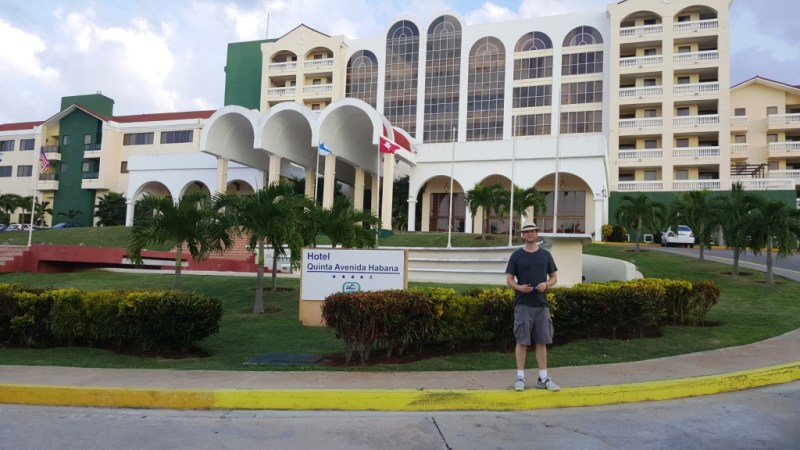 Cuba accommodations-Hotel Quinta Avenida Habana