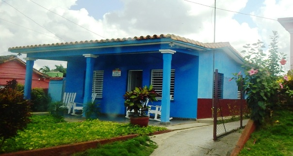 Cuba accommodations; casa particular