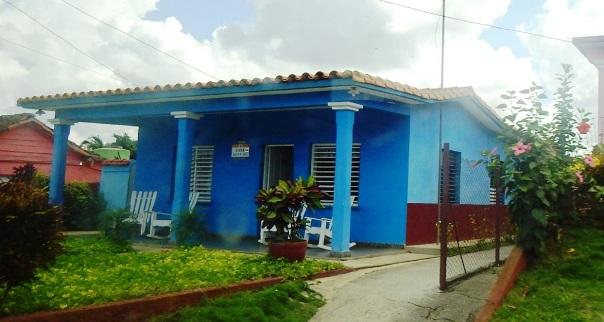 Cuba accommodations; casa particular