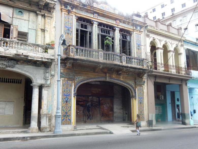 Beautiful, ornate , old buildings in Havana