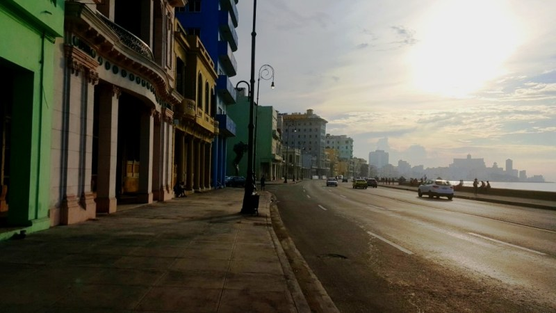 Malecon photo late day