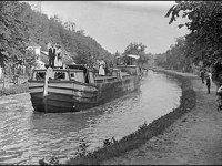The C&O Canal, shown here in 1910, was one of Mercer's major accomplishments. It was inaugurated in 1828.