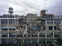 The Ruins of Detroit, photographed by Yves Marchand and Romain Meffre