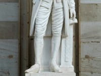 Hamilton's statue in the Capitol Rotunda