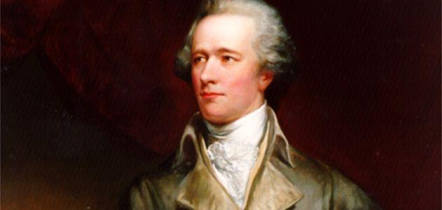 Alexander Hamilton, painted by John Trumbull