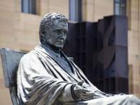 Statue of John Marshall in Philadelphia,