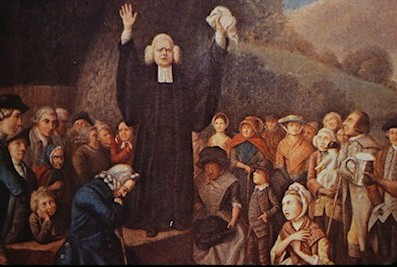 Rev. George Whitefield preaching