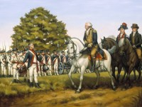 Washington led the army against the Whiskey Rebellion, and then pardoned those convicted.