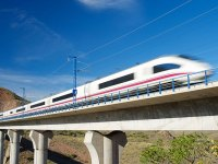 An infrastructure bank can fund the high-speed rail we need. Above, a Chinese high-speed train.
