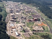The Oak Ridge complex where nuclear power was born.