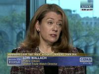 Public Citizen's Lori Wallach