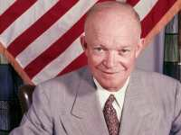 During Eisenhower's presidency, the marginal tax-rate hit 91%.  Was he a socialist?