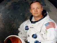 Neil Armstrong, the first man to walk on the Moon (NASA)