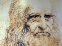 Leonard da Vinci self-portrait