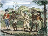 British slavery in the West Indies.