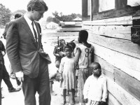 Bobby Kennedy on his poverty tour in 1968