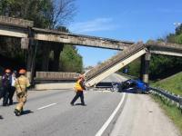 A Tennessee bridge collapse in 2019.