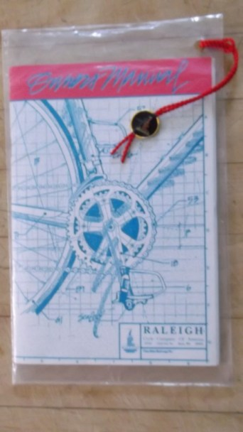raleigh technium owners manual 1