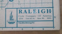 raleigh technium owners manual 2