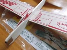 jetfire balsa glider 5