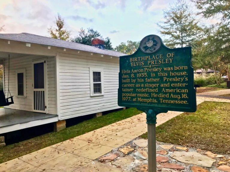 Elvis Presley Geboorte Huis Tupelo