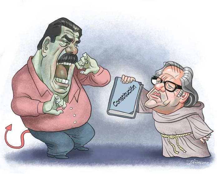 Resultado de imagen para Caricaturas últimas de Maduro