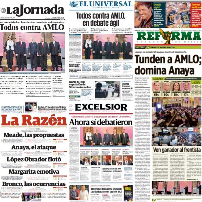 Ahora sí debatieron / Todos contra AMLO – América 2.1
