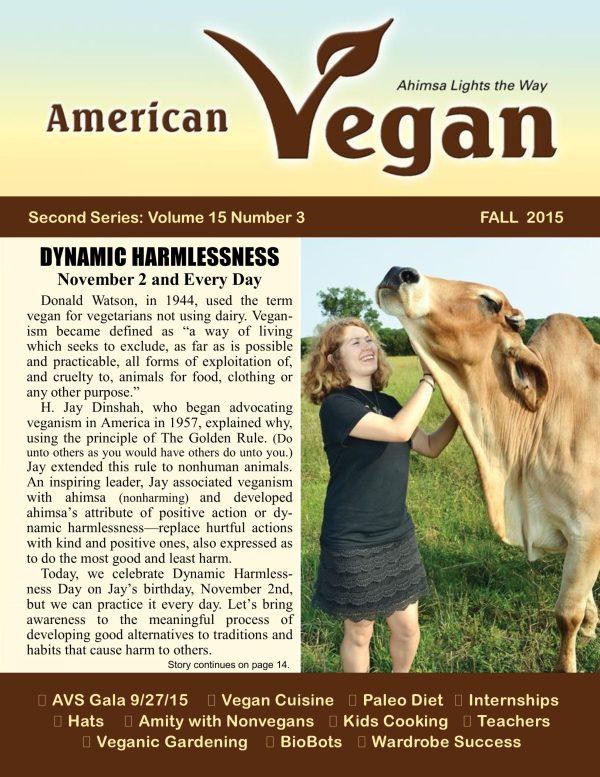 American Vegan Fall 2015 Cover Photo