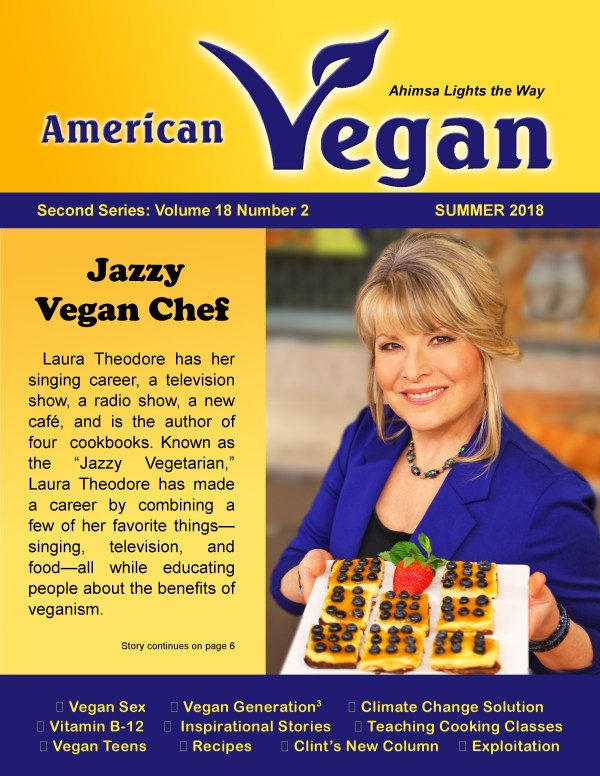 American Vegan Summer 2019 Cover Photo