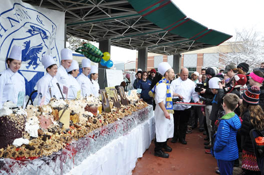 Seven Johnson & Wales University (JWU) culinary nutrition students