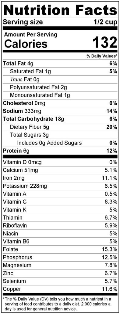 Nutritional-Fact-Hummus