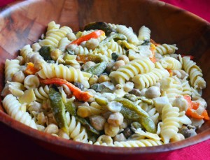 American Vegan Society Aegean Pasta Salad