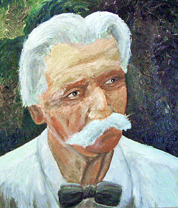 Schweitzer-painting-Jay-Dinshah