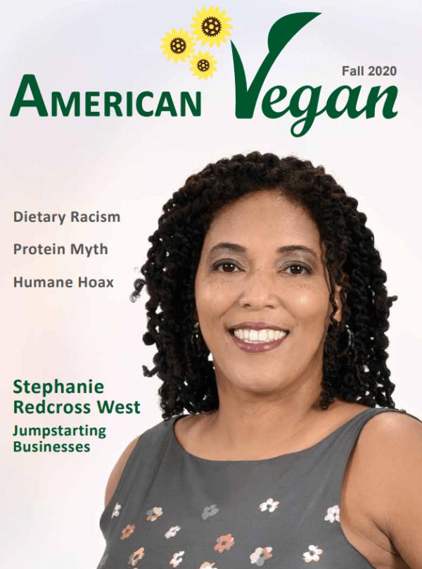 American Vegan Fall 2020 Cover image
