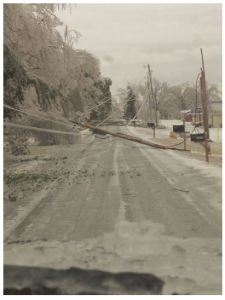 The Crippling Ice Storm of Feb. 20-21, Crossville (Cumberland County) [Photo Credit: Jessi Wilson]