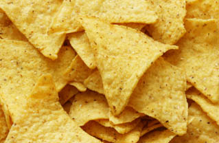 Nachos close-up, may be used as background