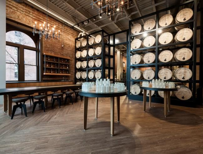 Michter's Fort Nelson Distillery Sensory & Tasting Lab